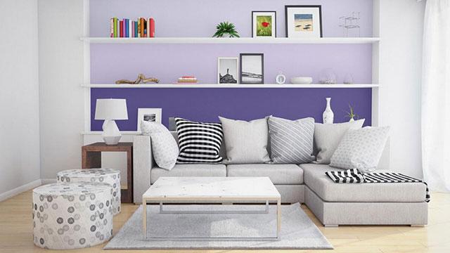 Những quy tắc và xu hướng phối màu sơn hiện đại