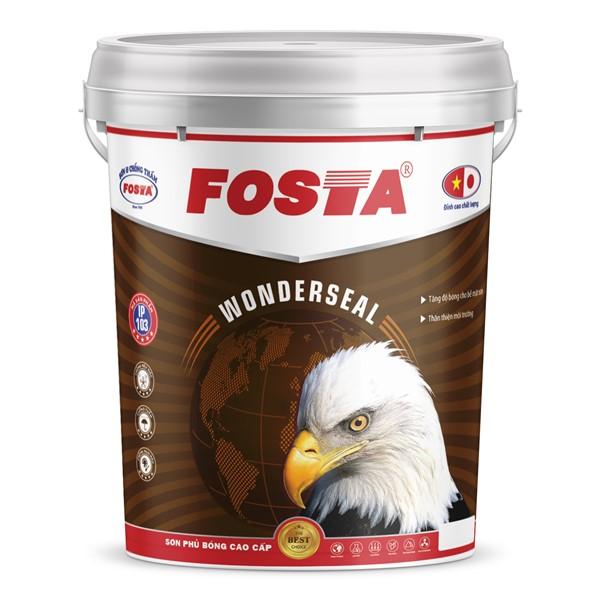 Sơn phủ bóng cao cấp FOSTA WONDERSEAL 18L